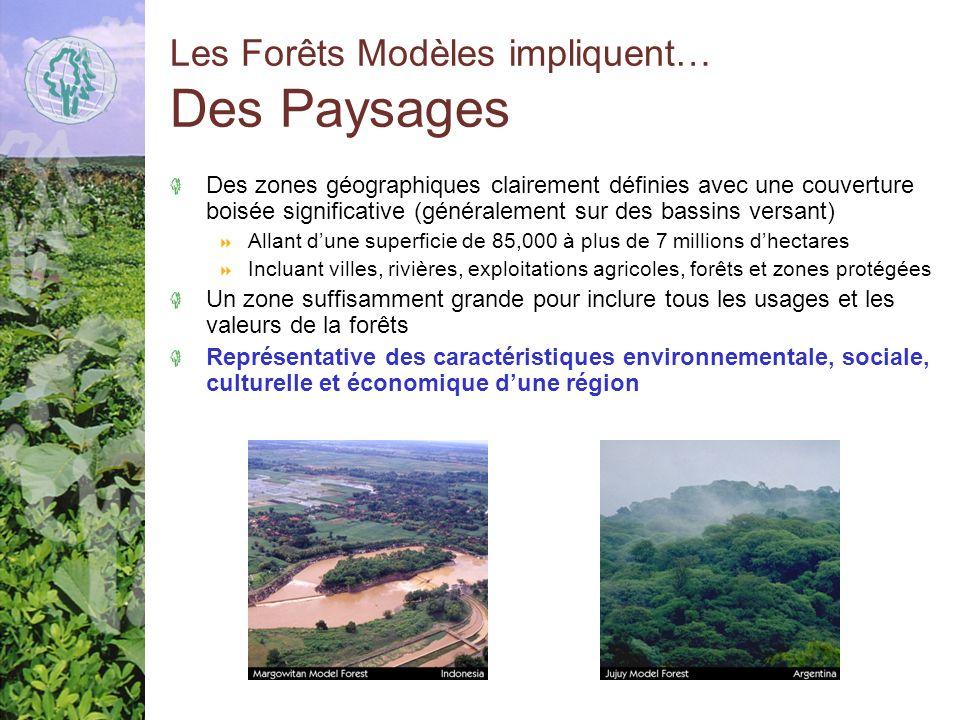 Les Forêts Modèles impliquent… Des Paysages