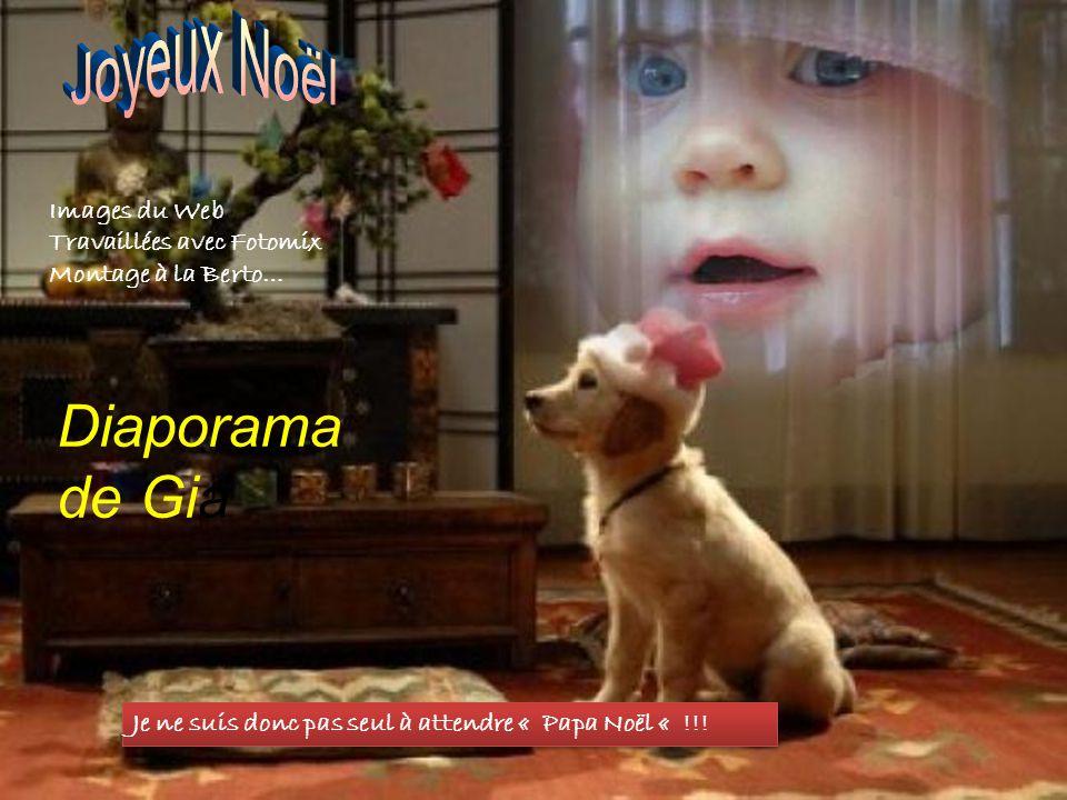Diaporama de Gia Joyeux Noël Images du Web Travaillées avec Fotomix