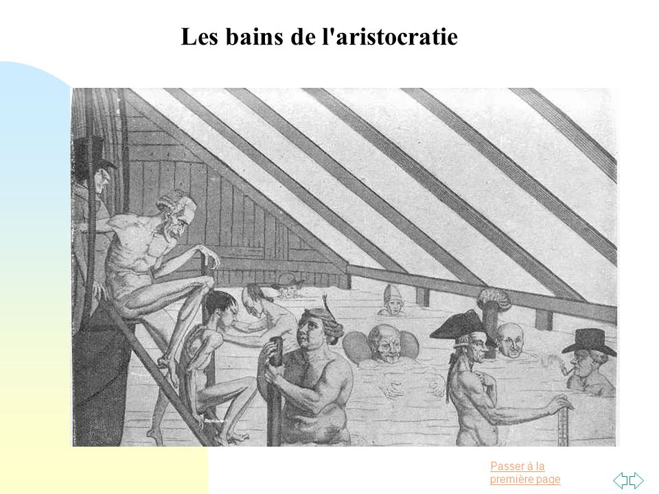 Les bains de l aristocratie