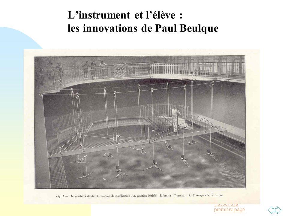 L'instrument et l'élève : les innovations de Paul Beulque