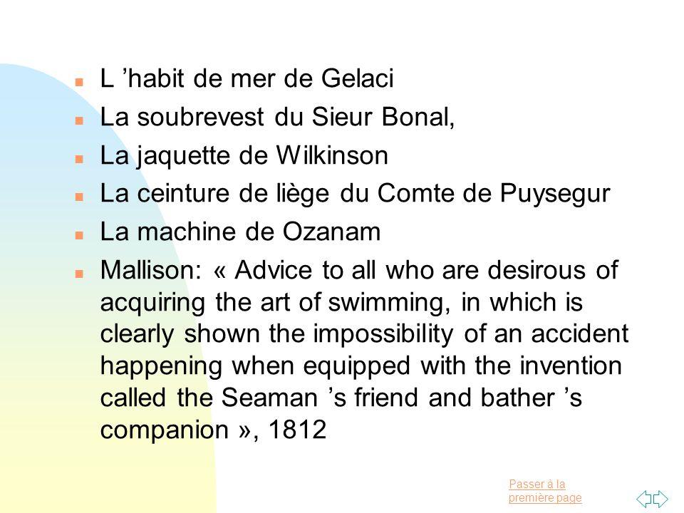 L 'habit de mer de Gelaci