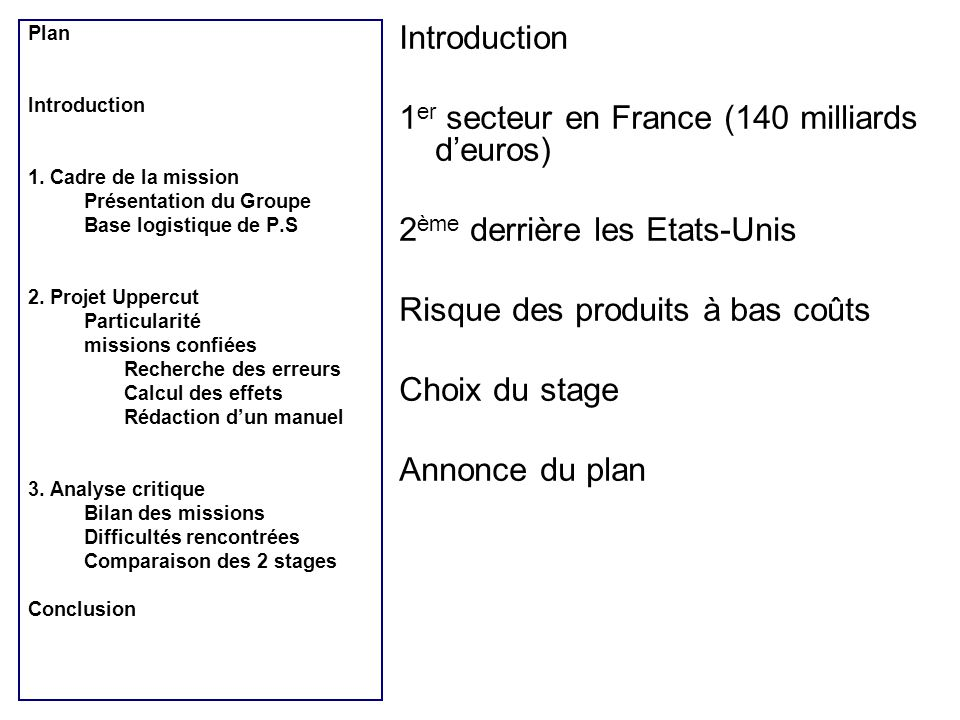 1er secteur en France (140 milliards d'euros)