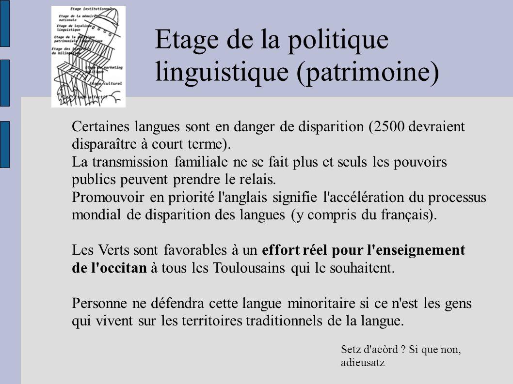 linguistique (patrimoine)