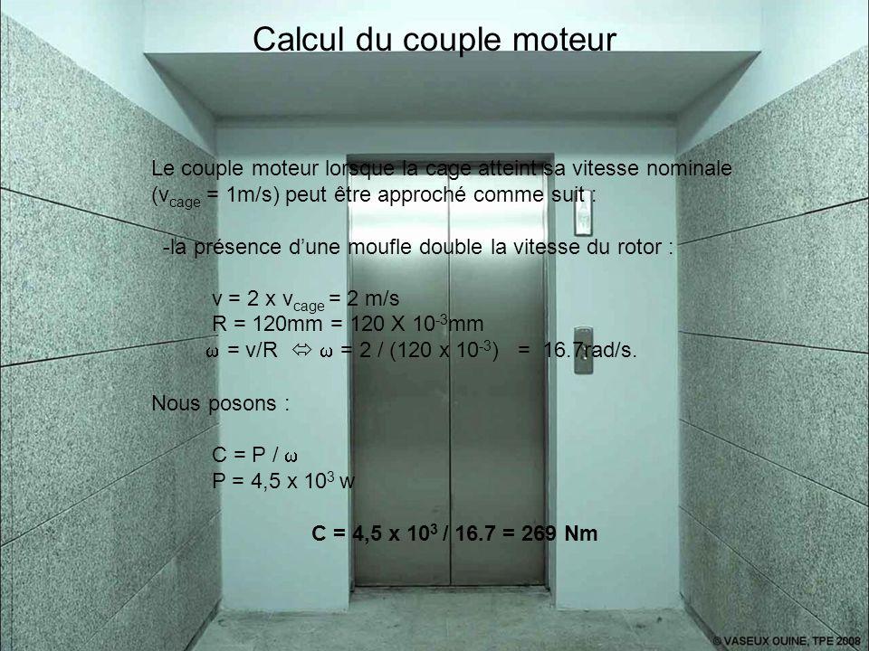 Calcul du couple moteur