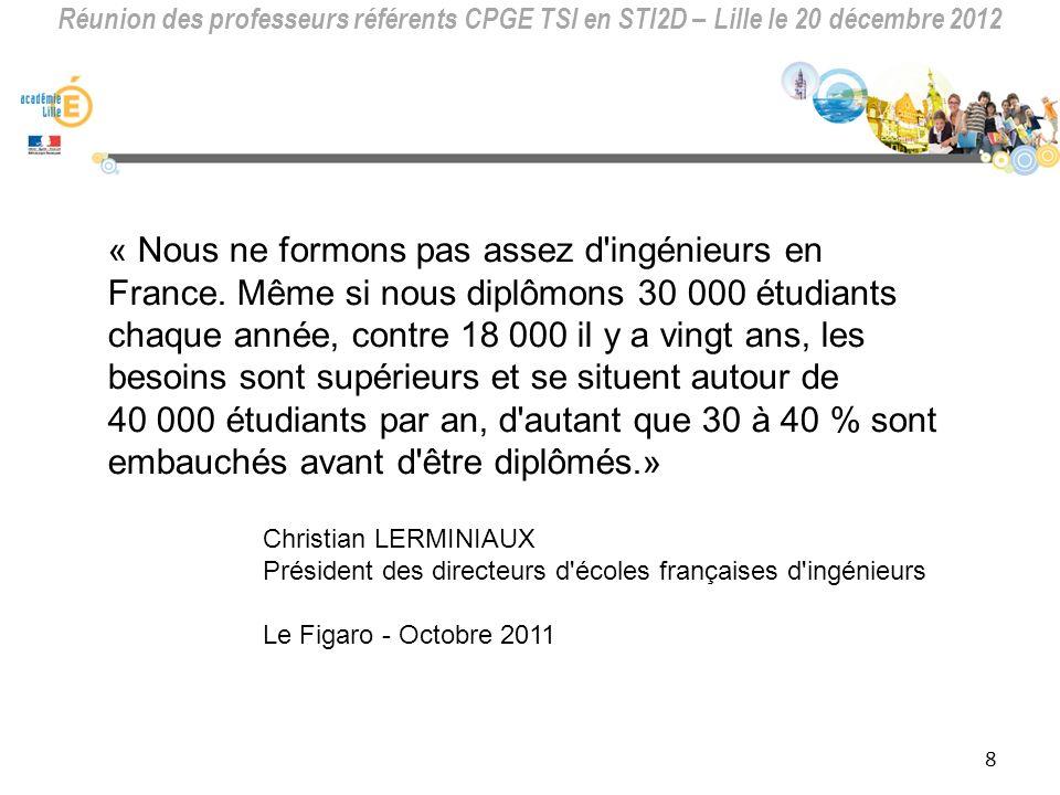 « Nous ne formons pas assez d ingénieurs en France
