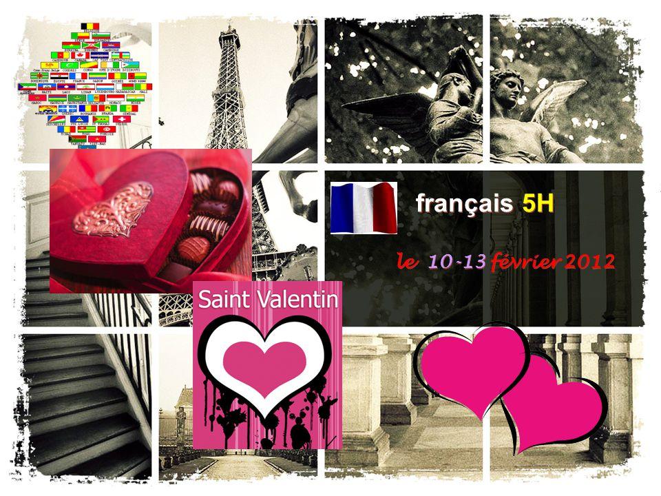 français 5H le 10-13 février 2012