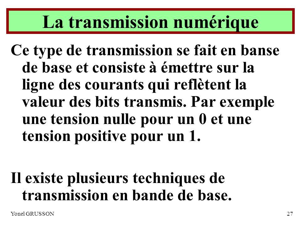 La transmission numérique