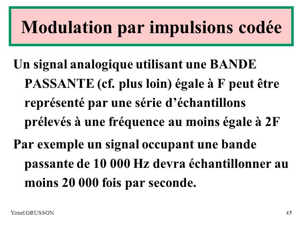 Modulation par impulsions codée