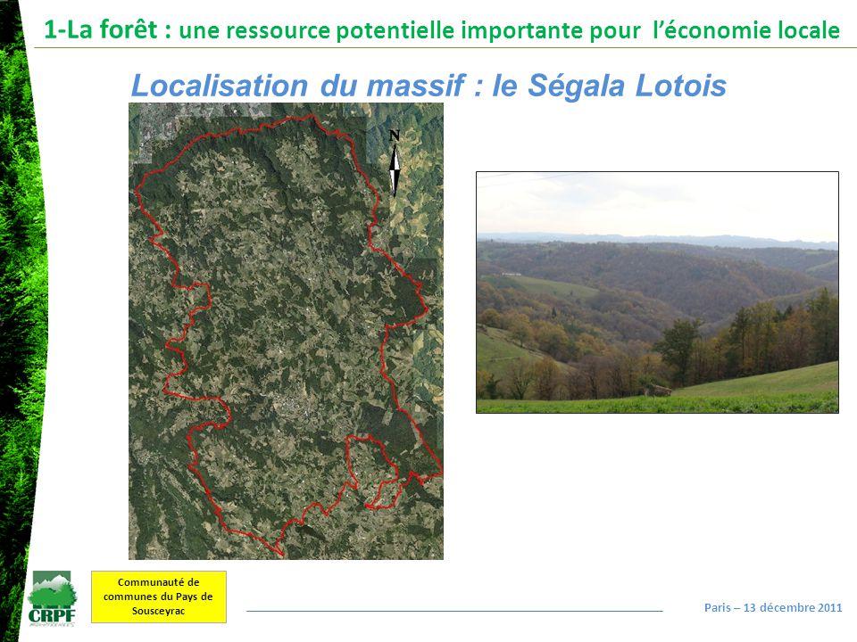 Localisation du massif : le Ségala Lotois