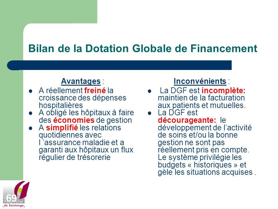 Bilan de la Dotation Globale de Financement