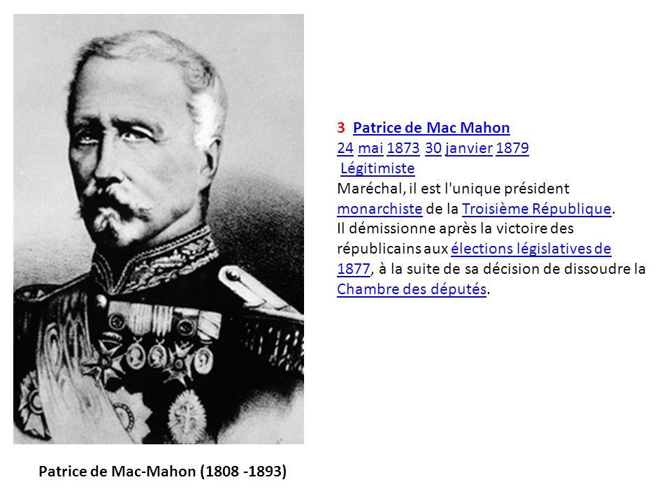 Patrice de Mac-Mahon (1808 -1893)