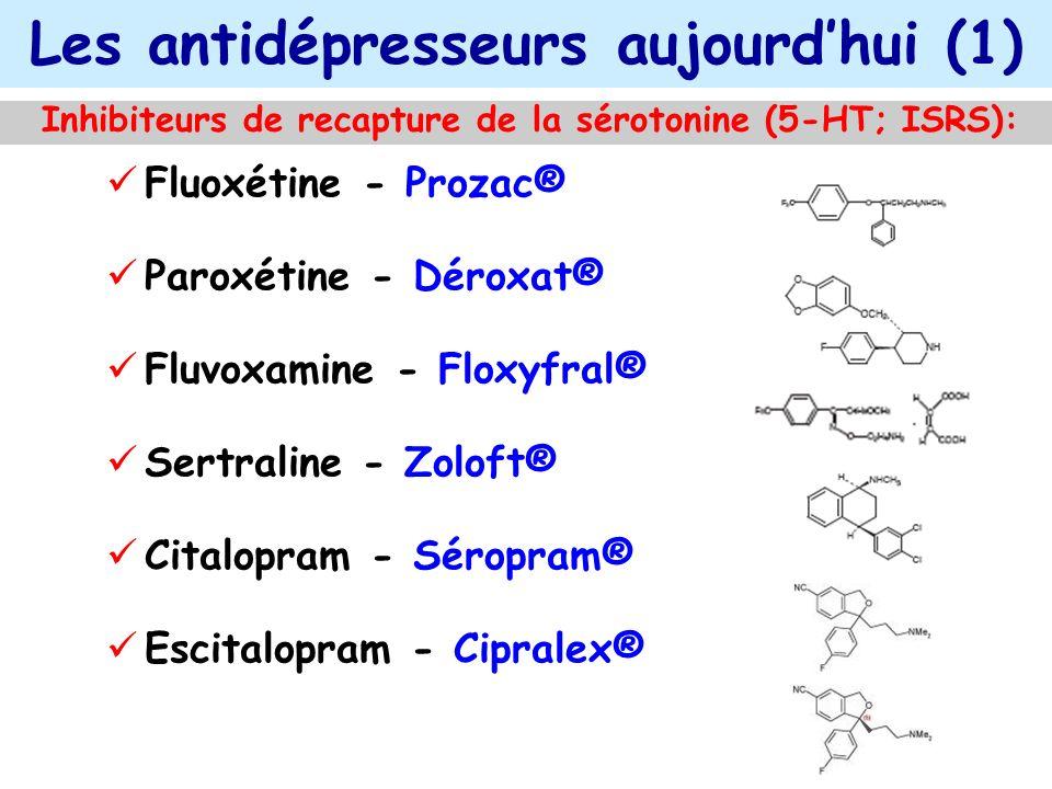 Les antidépresseurs aujourd'hui (1)