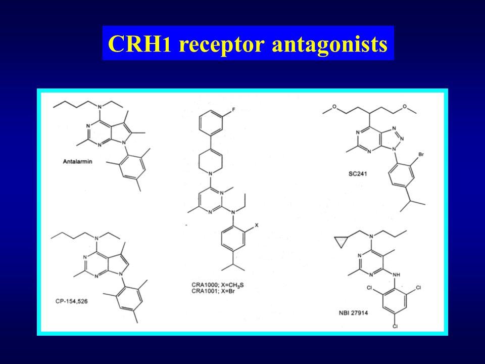 CRH1 receptor antagonists