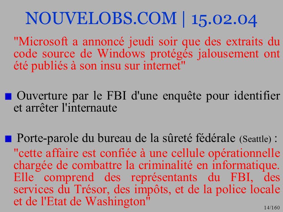 NOUVELOBS.COM | 15.02.04