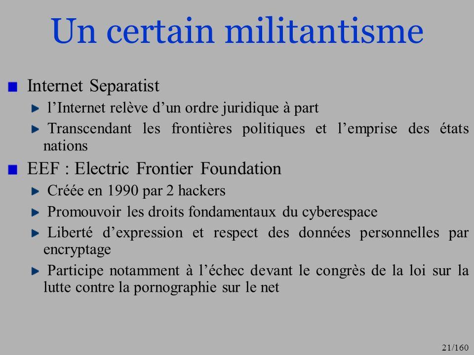 Un certain militantisme
