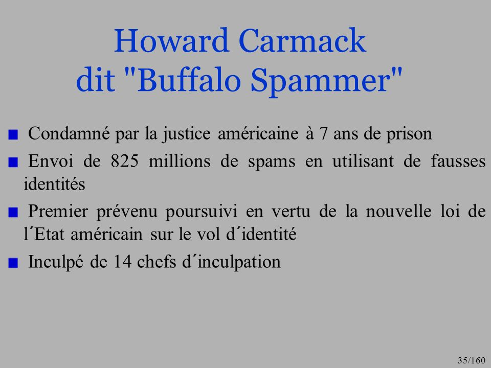 Howard Carmack dit Buffalo Spammer