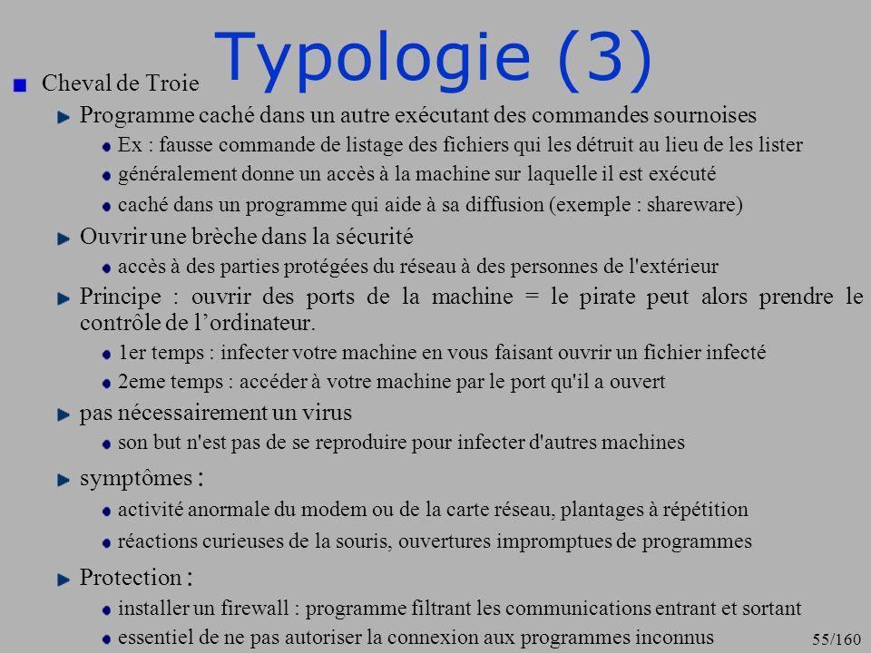Typologie (3) Cheval de Troie
