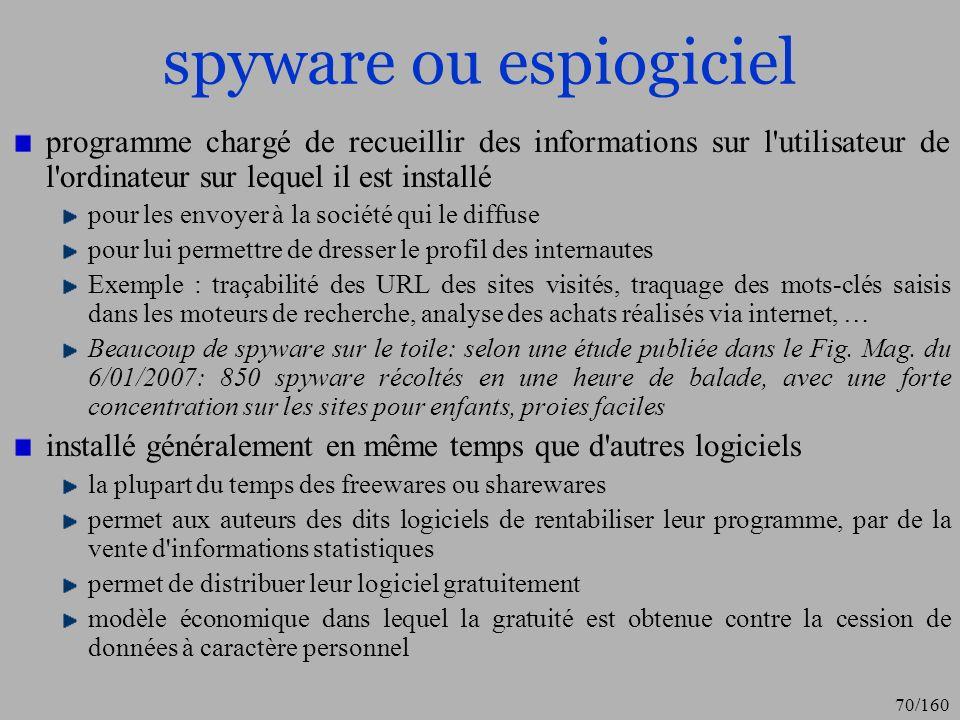 spyware ou espiogiciel