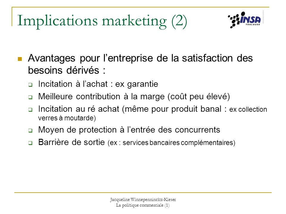 Implications marketing (2)
