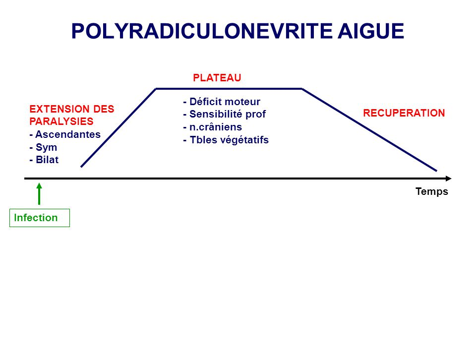 POLYRADICULONEVRITE AIGUE
