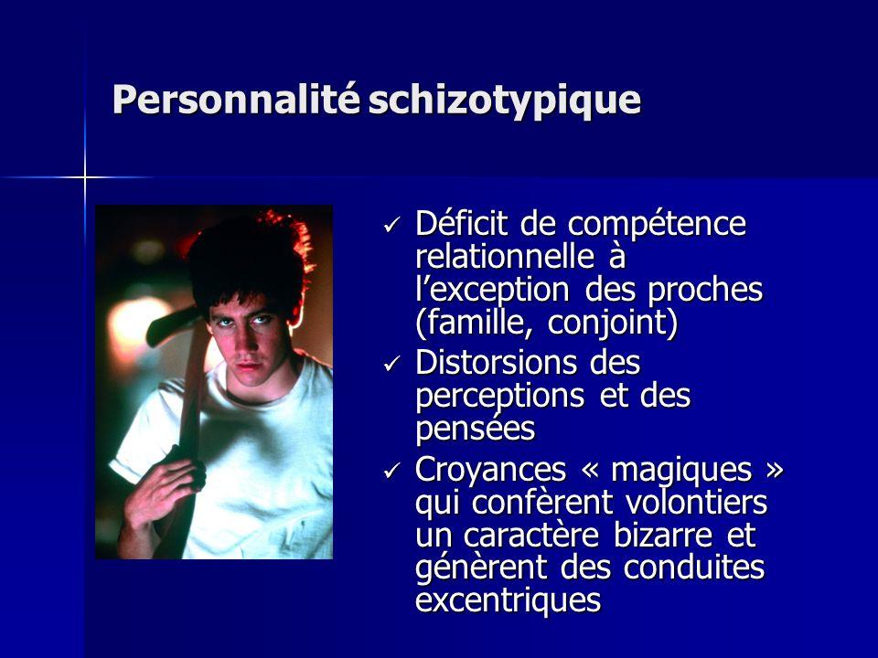 Personnalité schizotypique