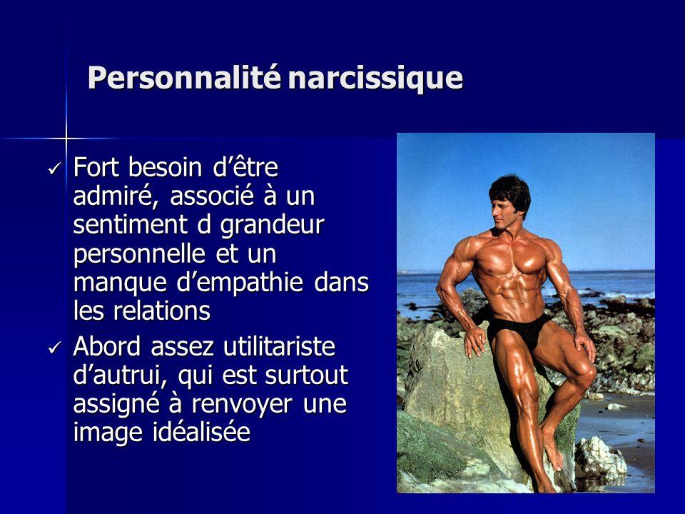 Personnalité narcissique
