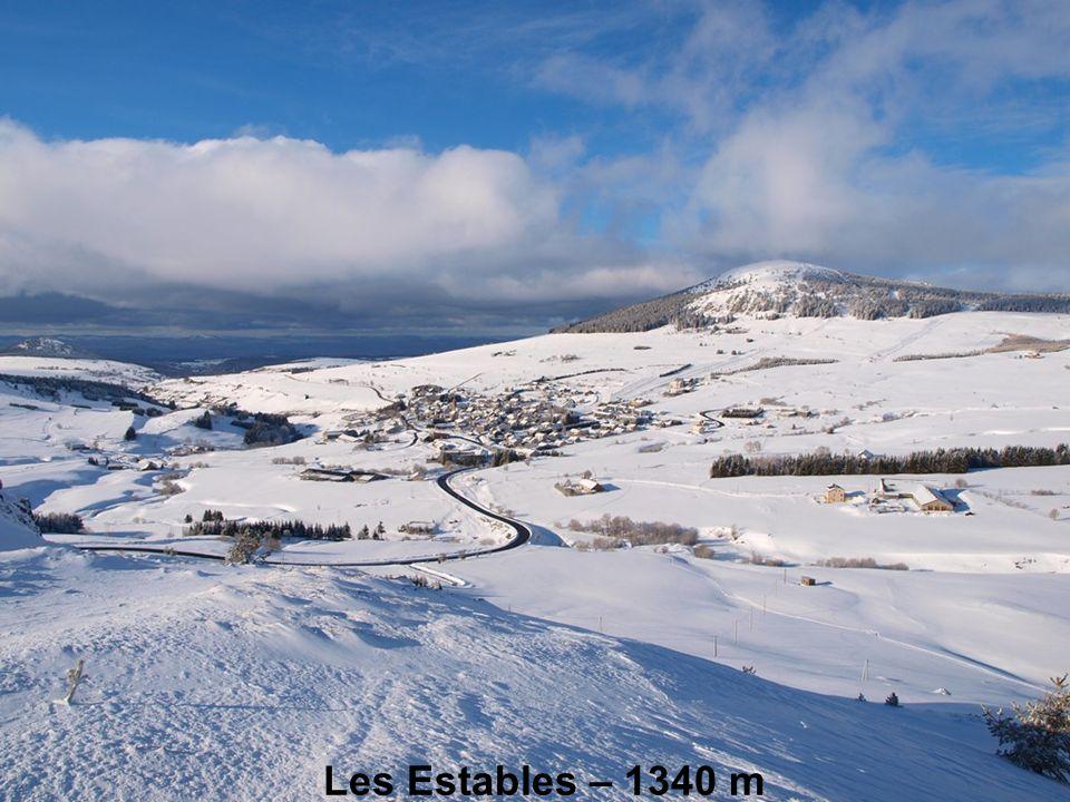 Les Estables – 1340 m