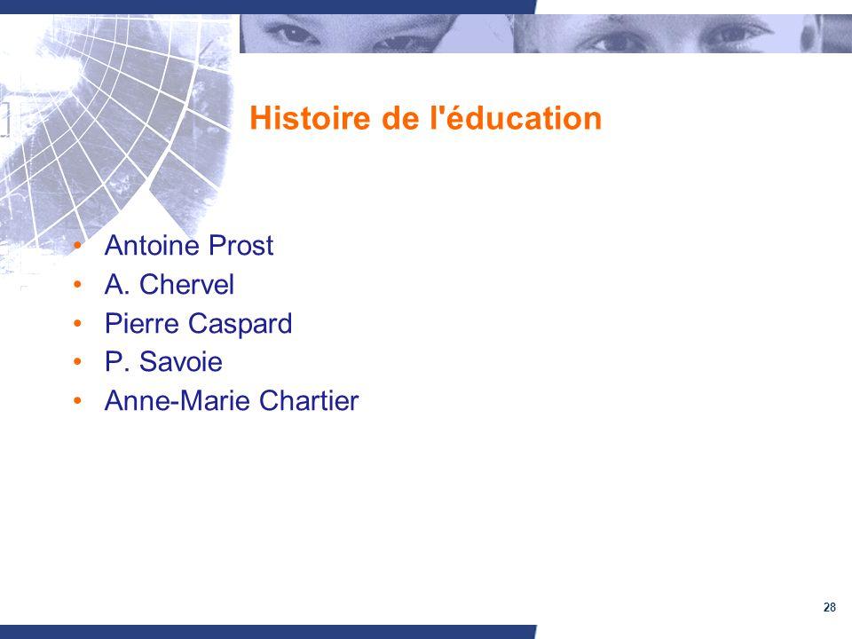 Histoire de l éducation