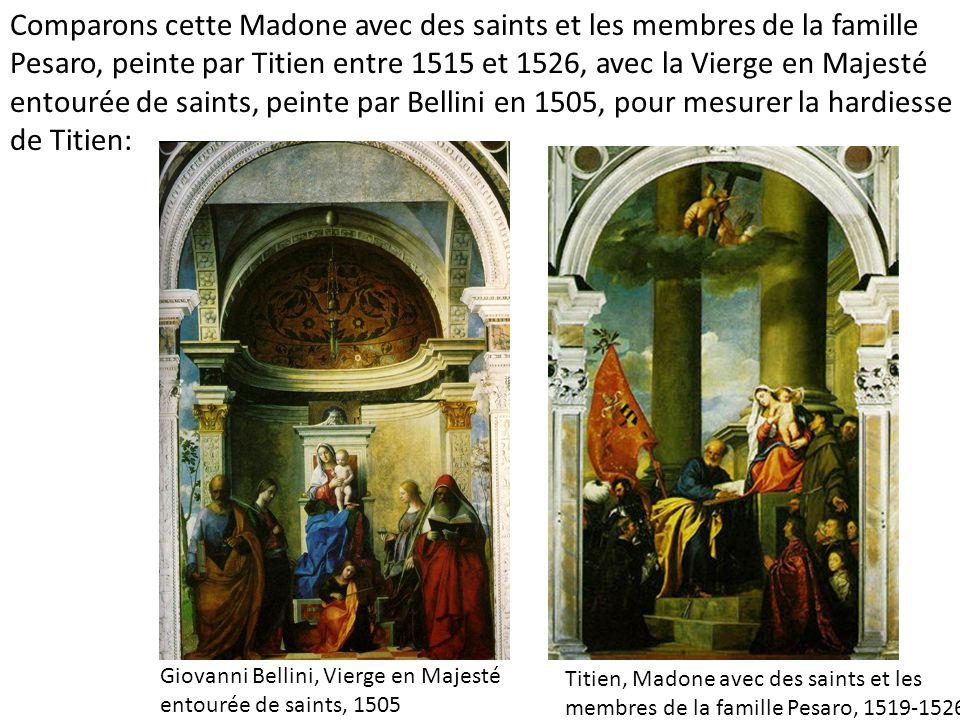 Giovanni Bellini, Vierge en Majesté entourée de saints, 1505