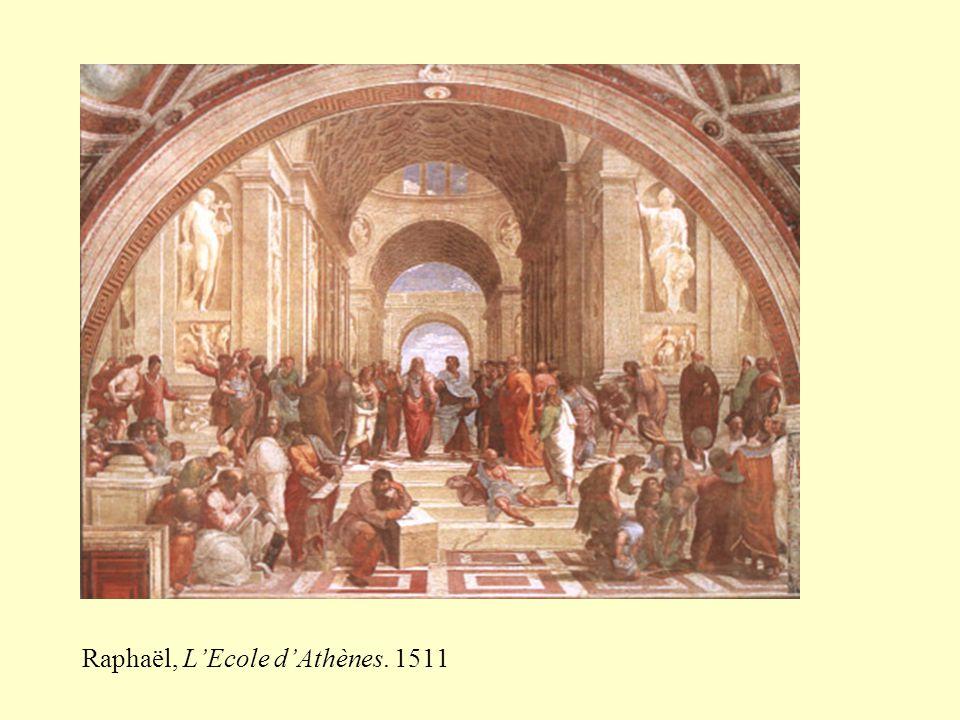 Raphaël, L'Ecole d'Athènes. 1511