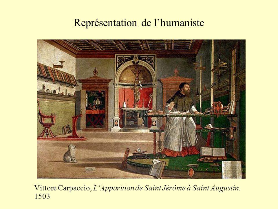 Représentation de l'humaniste