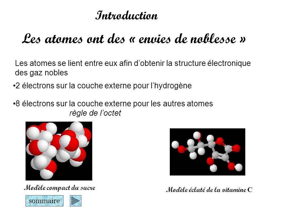 Les atomes ont des « envies de noblesse »