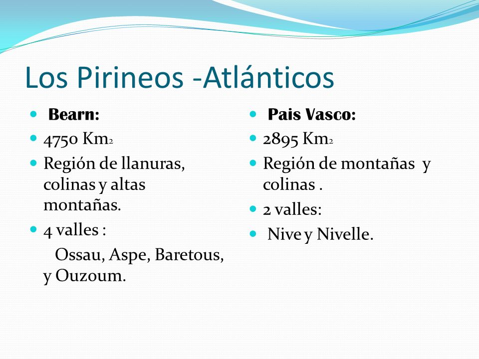 Los Pirineos -Atlánticos