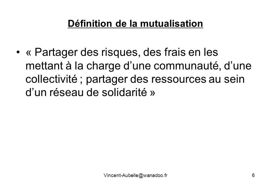 Définition de la mutualisation