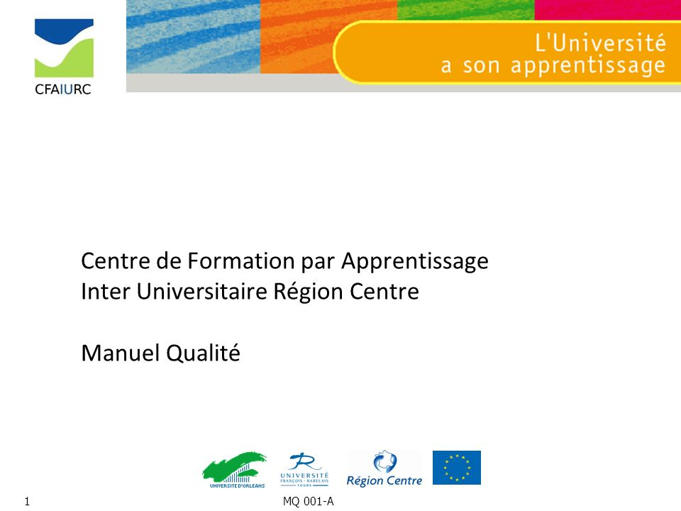 Centre de Formation par Apprentissage