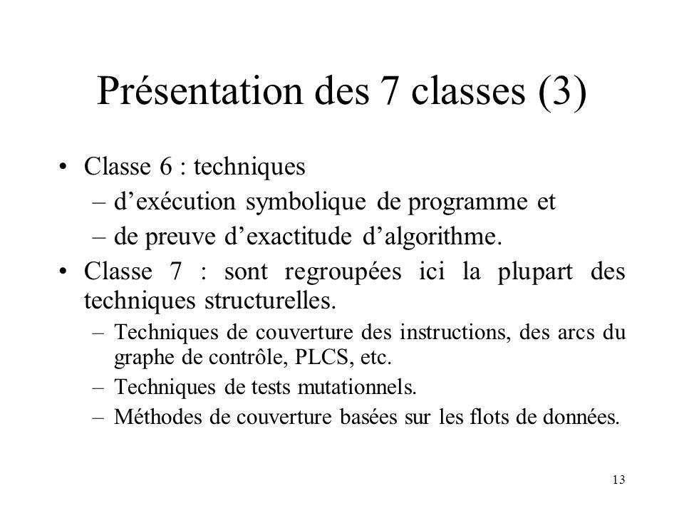 Présentation des 7 classes (3)
