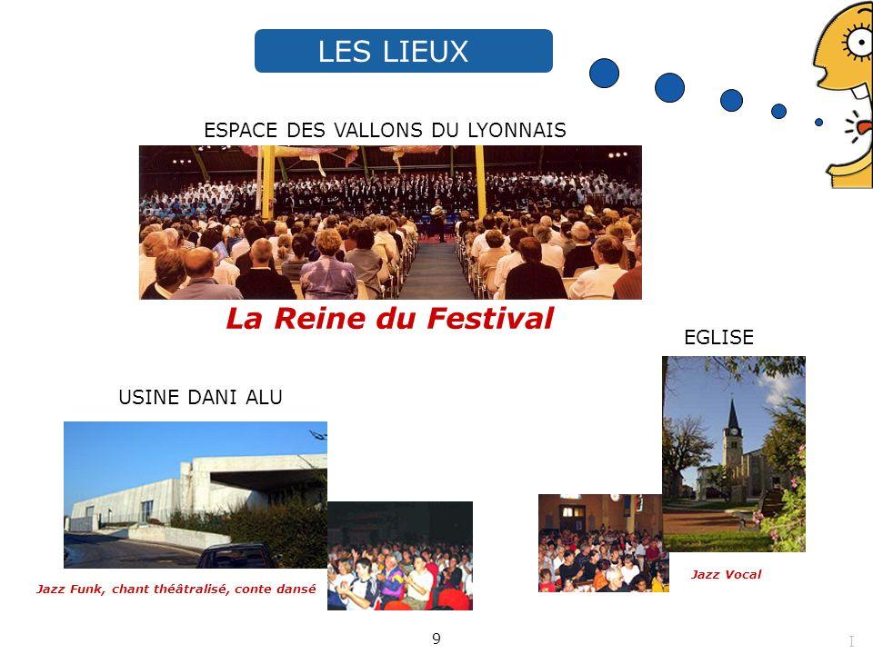 LES LIEUX La Reine du Festival ESPACE DES VALLONS DU LYONNAIS EGLISE