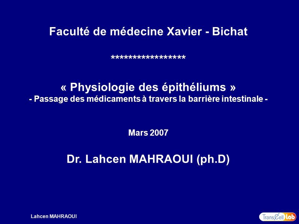 Faculté de médecine Xavier - Bichat *****************