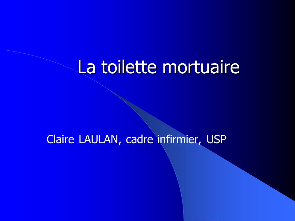 Claire LAULAN, cadre infirmier, USP