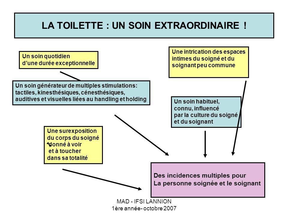 LA TOILETTE : UN SOIN EXTRAORDINAIRE !