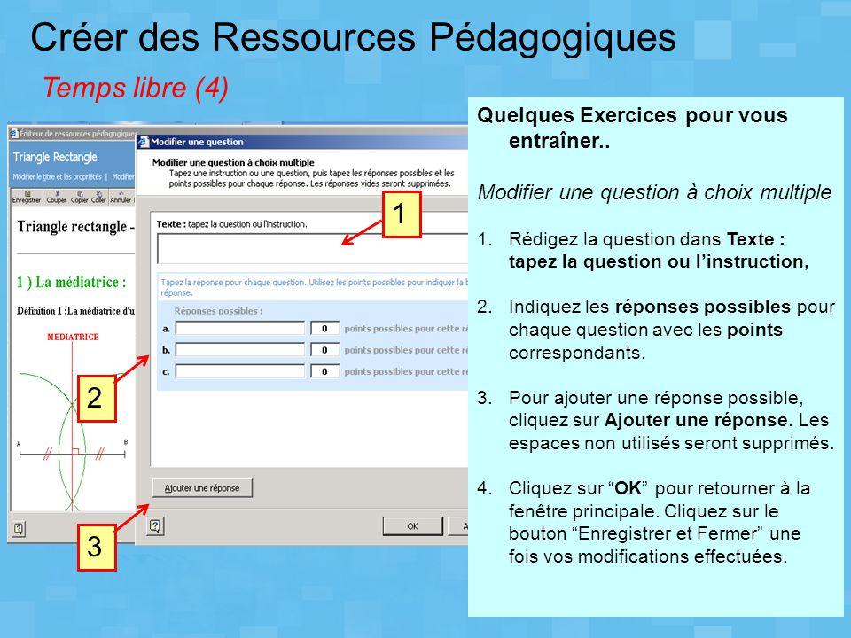 Créer des Ressources Pédagogiques Temps libre (4)