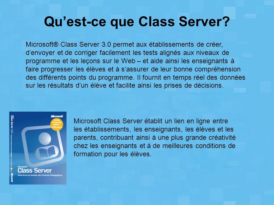 Qu'est-ce que Class Server