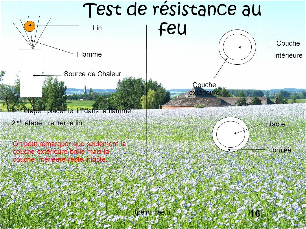 Test de résistance au feu