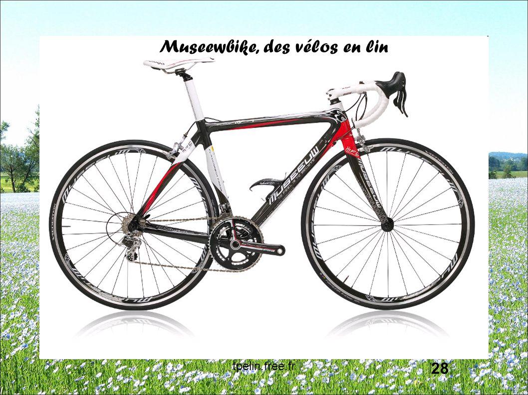 Museewbike, des vélos en lin