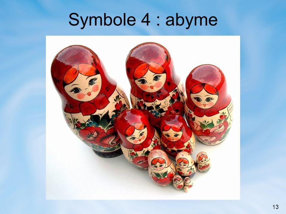 Symbole 4 : abyme