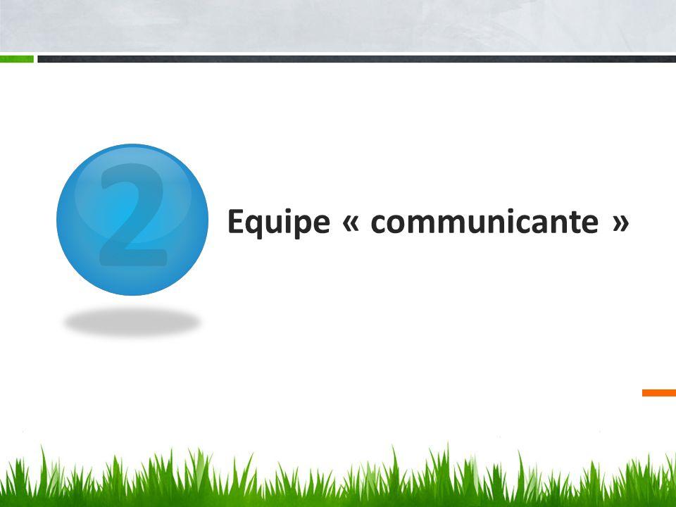 Equipe « communicante »