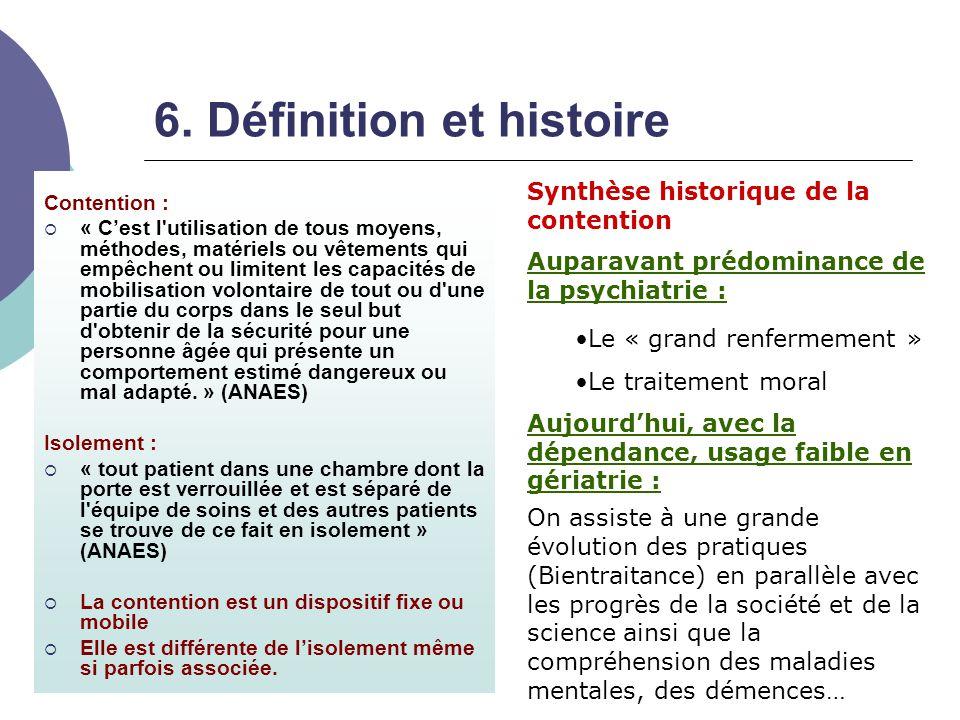 6. Définition et histoire