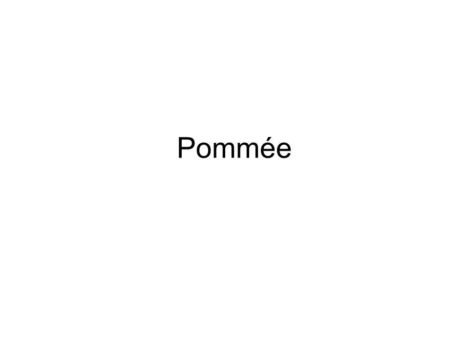 Pommée