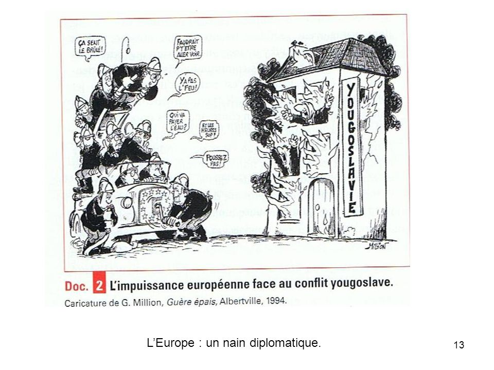L'Europe : un nain diplomatique.