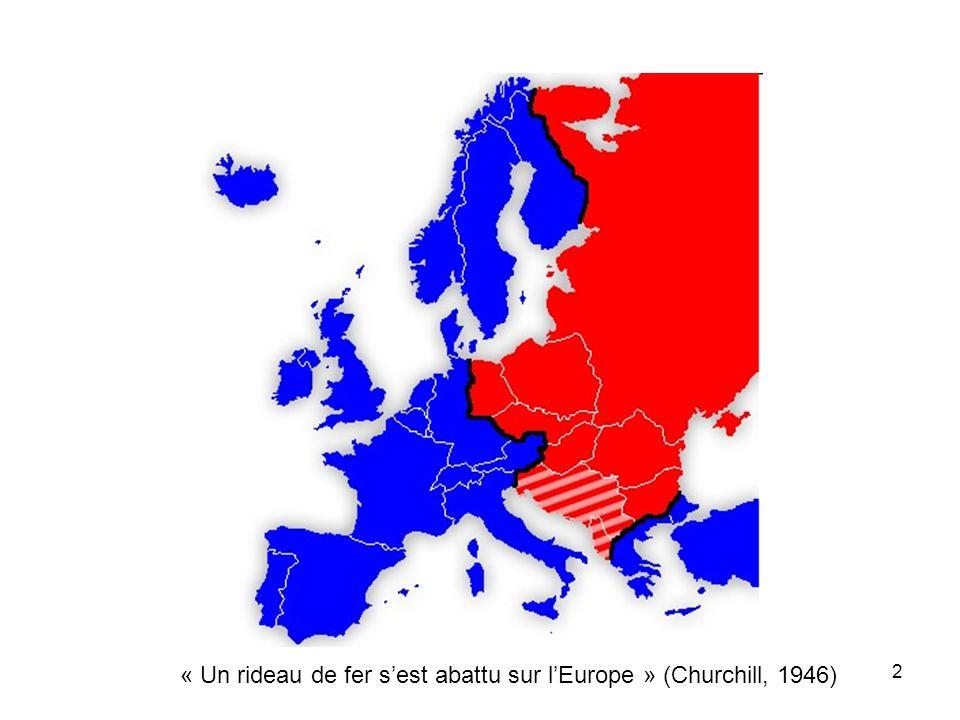 « Un rideau de fer s'est abattu sur l'Europe » (Churchill, 1946)